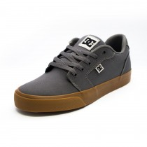 Tênis DC Shoes Anvil TX Grey/Black/Grey