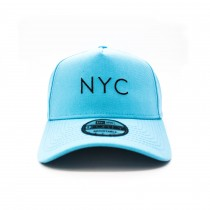 Boné New Era 9Forty A-Frame Simple Fluor NYC Blue