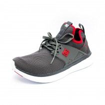 Tenis Masculino DC Shoes Meridian Grey/Red/White