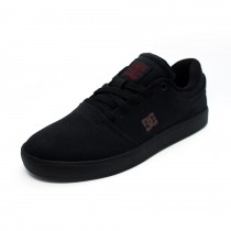Tênis DC Shoes Crisis TX LA Black/Black/Dark Grey