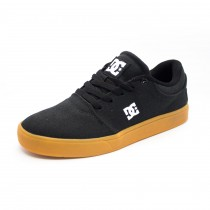 Tênis DC Shoes Crisis TX LA Black/Gum