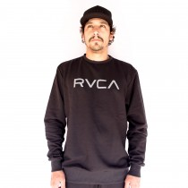 Moletom Rvca Careca Big Rvca Preto