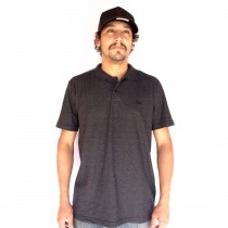 Camisa Polo New Era Quad Branded Preto