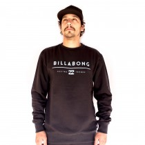 Moletom Billabong Careca Unity Preto