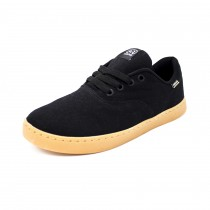 Tênis Hocks Sonora Skate Canvas Black/Natural