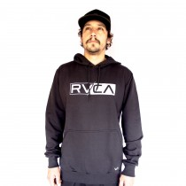 Moletom Rvca Lateral Big Rvca Preto