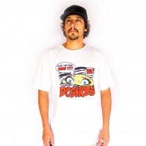 Camiseta DC Shoes Basica Not Them Again Snow White