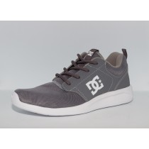 Tênis DC Shoes Midway Grey/White